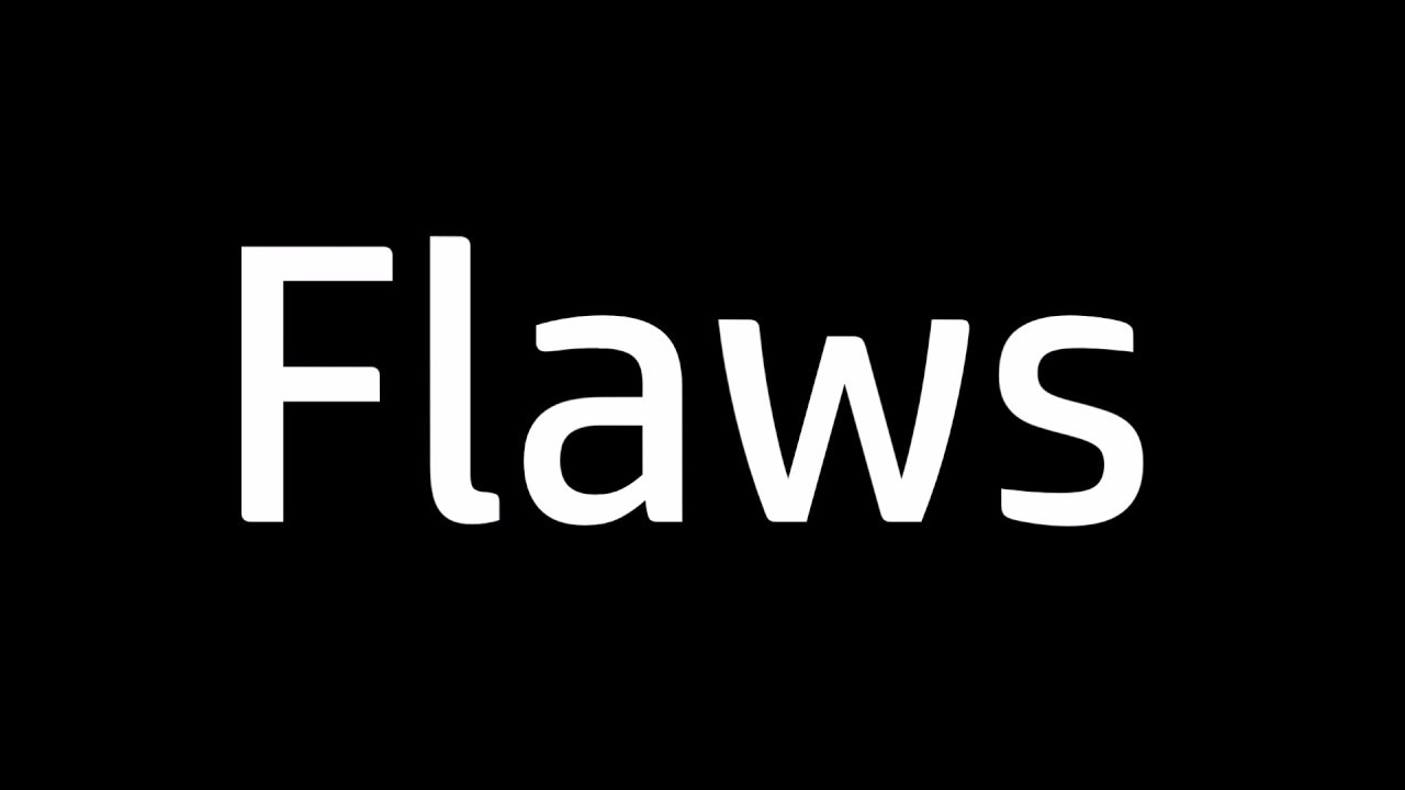 film flaws